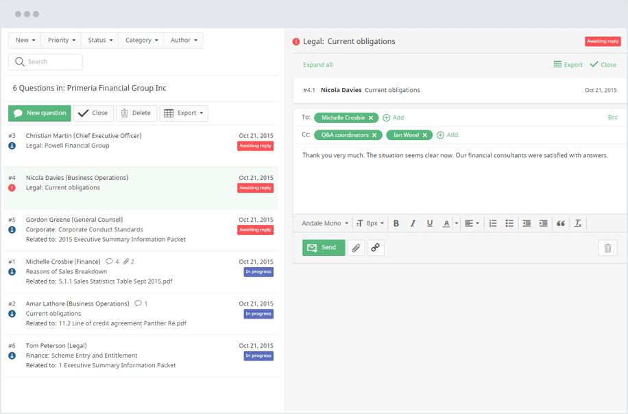 iDeals Sanal Veri Odası Nasıl Çalışır?